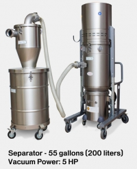 Industrial EX Vacuum & Pre-Separator CD/EUR 50L EX DT and HEC 60/200L EX